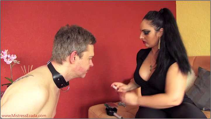 Slave mouth is the best ashtray - MISTRESS EZADA SINN - SD/406p/MP4