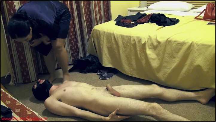 Balls torture punishment - MISTRESS EZADA SINN - SD/406p/MP4
