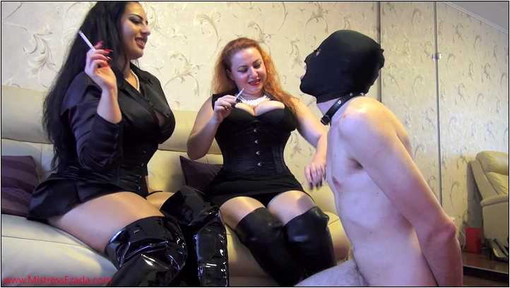 Only human ashtrays in My house - MISTRESS EZADA SINN - SD/406p/MP4