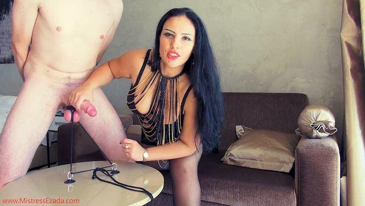 Mistress Ezada In Scene: Ruined in a balls-pulling predicament position - MISTRESS EZADA SINN - SD/406p/MP4