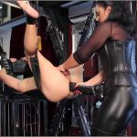Mistress Ezada In Scene: Extreme pegging and milking on the sling – MISTRESS EZADA SINN – SD/406p/MP4