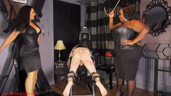 Mistress Ezada In Scene: An English caning for an English slave - MISTRESS EZADA SINN - SD/406p/MP4