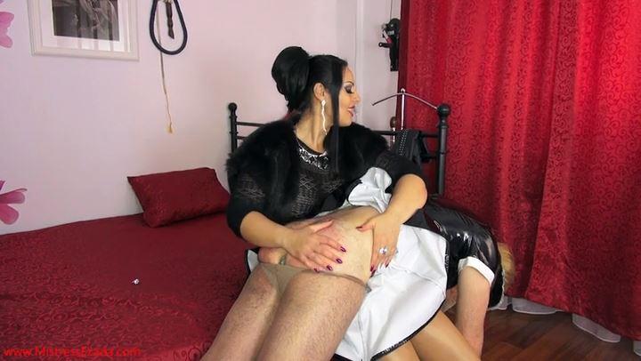 Mistress Ezada In Scene: Lazy sissy maid OTK spanking - MISTRESS EZADA SINN - SD/406p/MP4