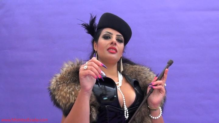 Mistress Ezada In Scene: Mesmerizing hand worship - MISTRESS EZADA SINN - SD/406p/MP4