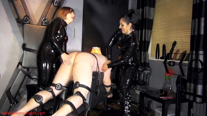 Mistress Ezada In Scene: Tickled by two latex vixens - MISTRESS EZADA SINN - SD/406p/MP4