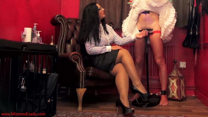 Mistress Ezada In Scene: My cock loving sissy - MISTRESS EZADA SINN - SD/406p/MP4