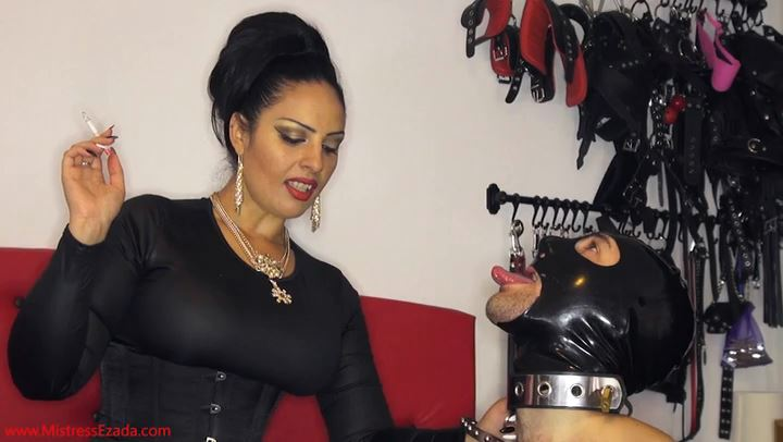 Mistress Ezada In Scene: My exited human ashtray - MISTRESS EZADA SINN - SD/406p/MP4