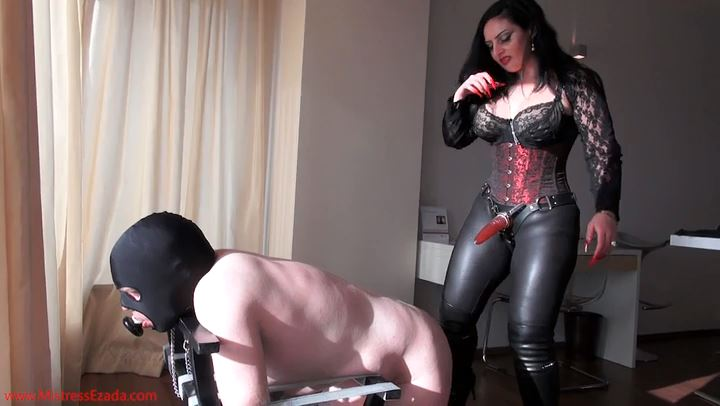 Mistress Ezada In Scene: Pegged by the window - MISTRESS EZADA SINN - SD/406p/MP4