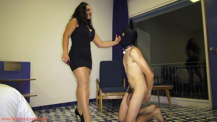 Mistress Ezada In Scene: Electro pet training part 2 - MISTRESS EZADA SINN - SD/406p/MP4