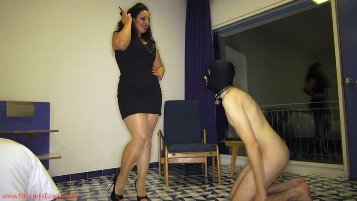 Mistress Ezada In Scene: Electro pet training FULL clip - MISTRESS EZADA SINN - SD/406p/MP4