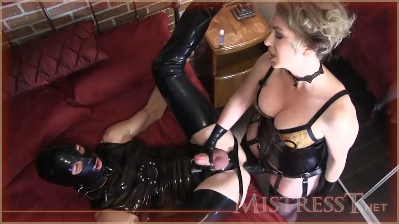 Mistress T In Scene: Spit Roasted Man Ass Rimming Cuckold - MISTRESST - HD/720p/MP4
