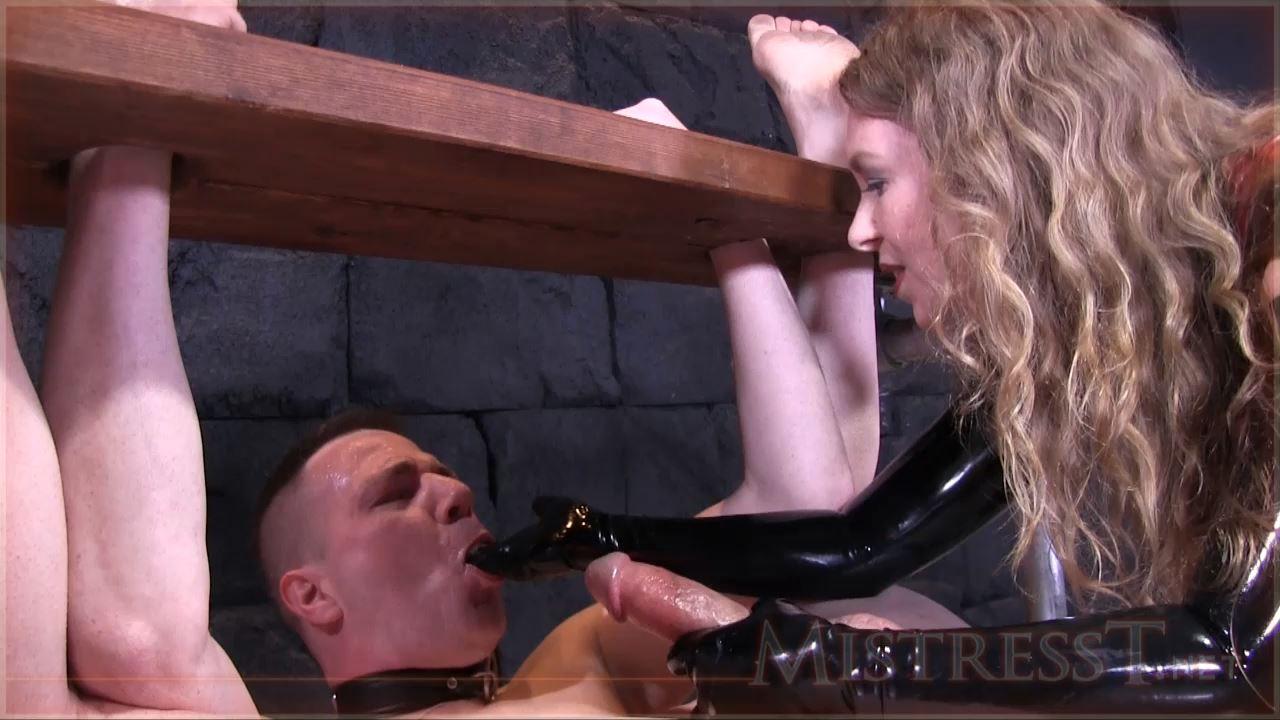 Mistress T In Scene: Extreme Humiliating Bound Milking - MISTRESST - HD/720p/MP4