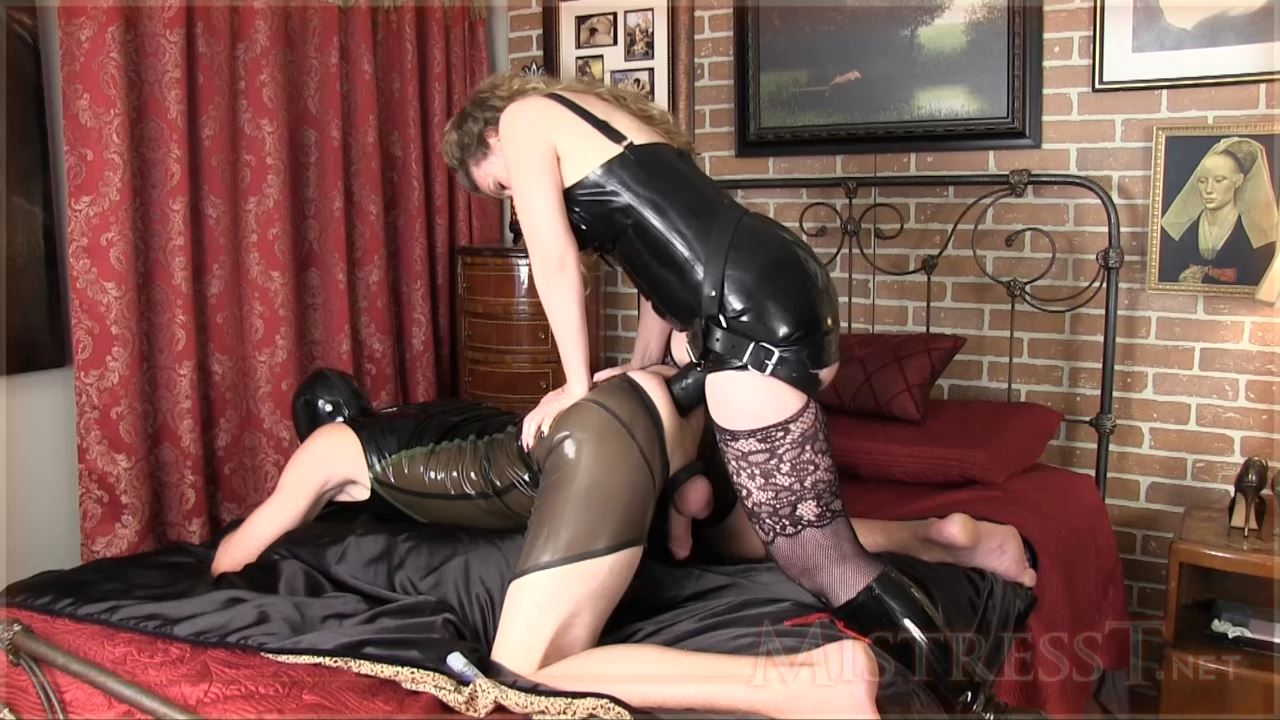 Mistress T In Scene: Giant Cock For Gimp Boy - MISTRESST - HD/720p/MP4