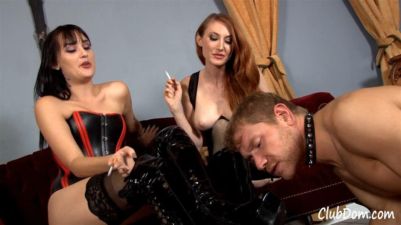 Elena Sin, Kendra James In Scene: Lick Our Ash - CLUBDOM / RUTHLESSVIXEN - HD/720p/MP4