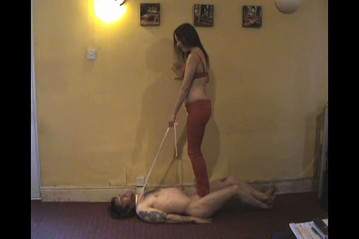 Ladyx rope surport cbt cock crush - UK STOMP / TRAMPLE ANGEL - SD/480p/MP4