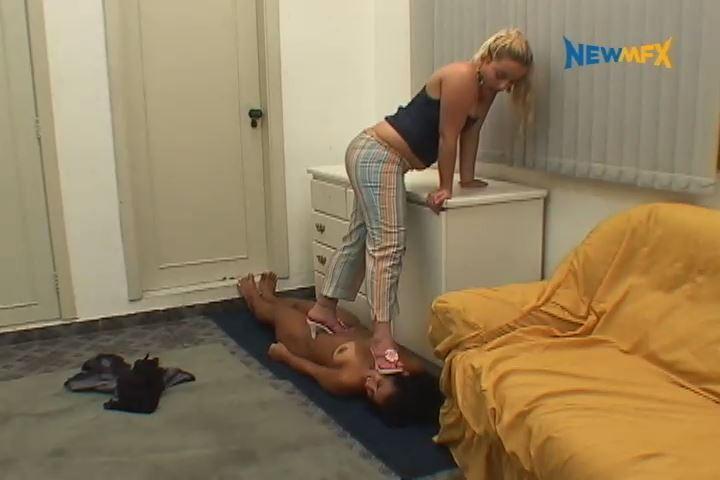 Latifa, Darla In Scene: CRAZY HAIRSTYLIST - TRAMPLE IN BRAZIL - SD/480p/MP4