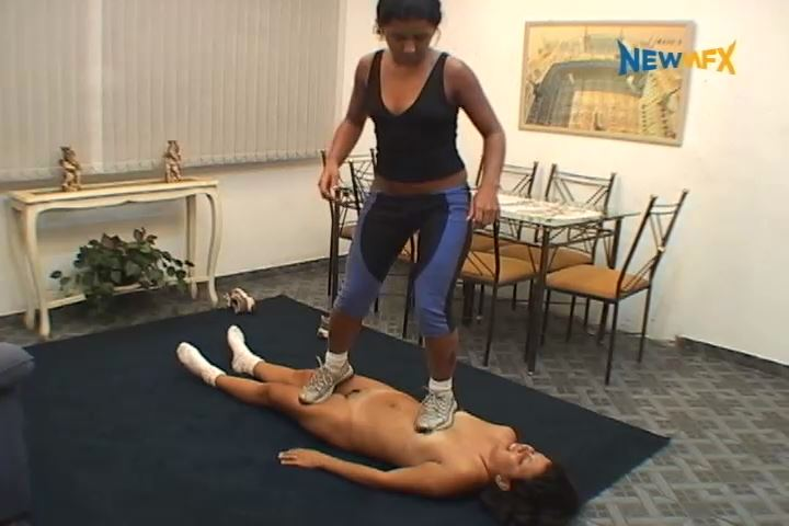 Latifa, Iohana Alvez In Scene: WORKING OUT UPON YOU - TRAMPLE IN BRAZIL - SD/480p/MP4