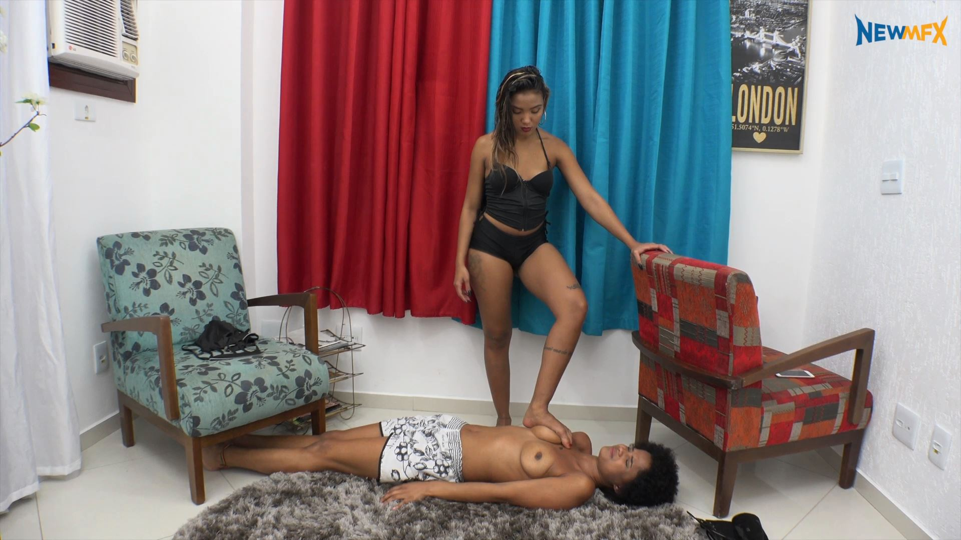 MARCELLA SCHULTZ, Amandinha In Scene: PECULIAR CORRECTION MEASURE - TRAMPLE IN BRAZIL - FULL HD/1080p/MP4