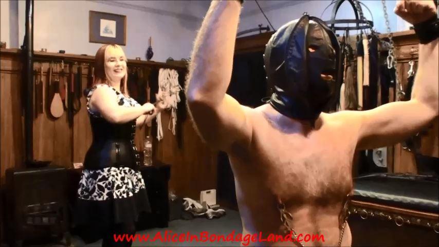 Slave Roller Part 3 Whipping - ALICEINBONDAGELAND - SD/480p/MP4