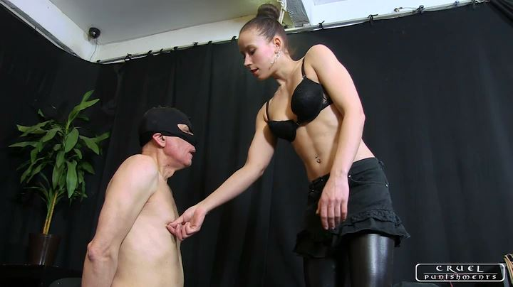 Lady Anette In Scene: Painful seance Part 1 - CRUEL PUNISHMENTS - SEVERE FEMDOM - SD/404p/MP4