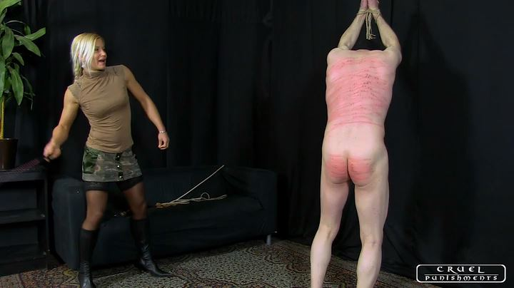 Lady Zita In Scene: Breaking the slave Part 2 - CRUEL PUNISHMENTS - SEVERE FEMDOM - SD/404p/MP4