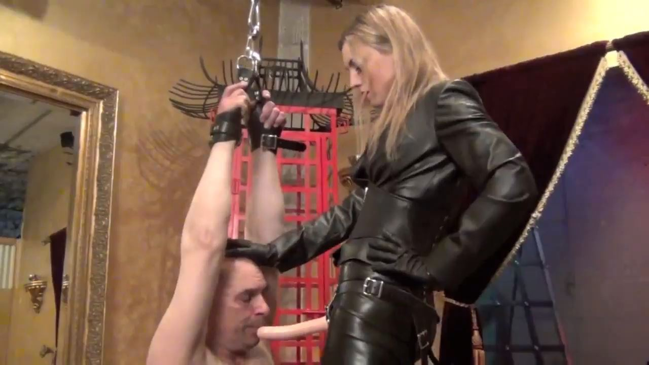 Mistress Renee Trevi In Scene: A LESSON IN GAG REFLEX PART 2 - DOMNATION - HD/720p/MP4
