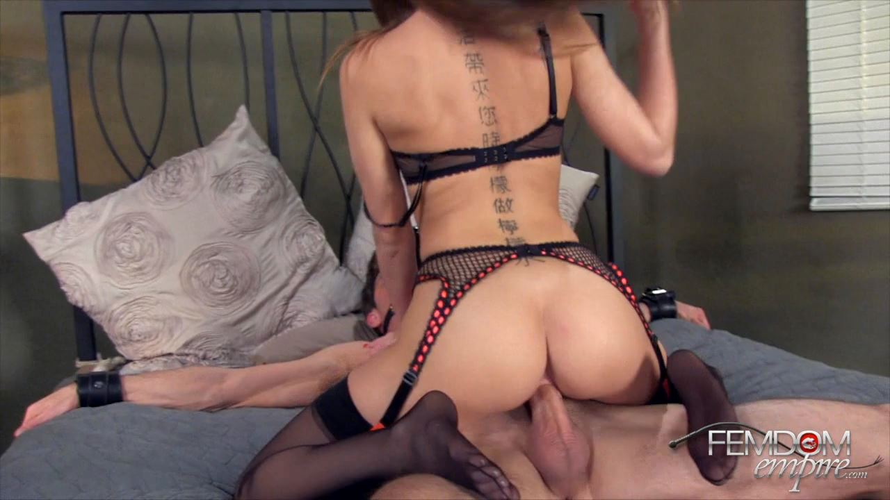 Riley Reid In Scene: Princess Riley's Slave Cock - FEMDOMEMPIRE - HD/720p/MP4