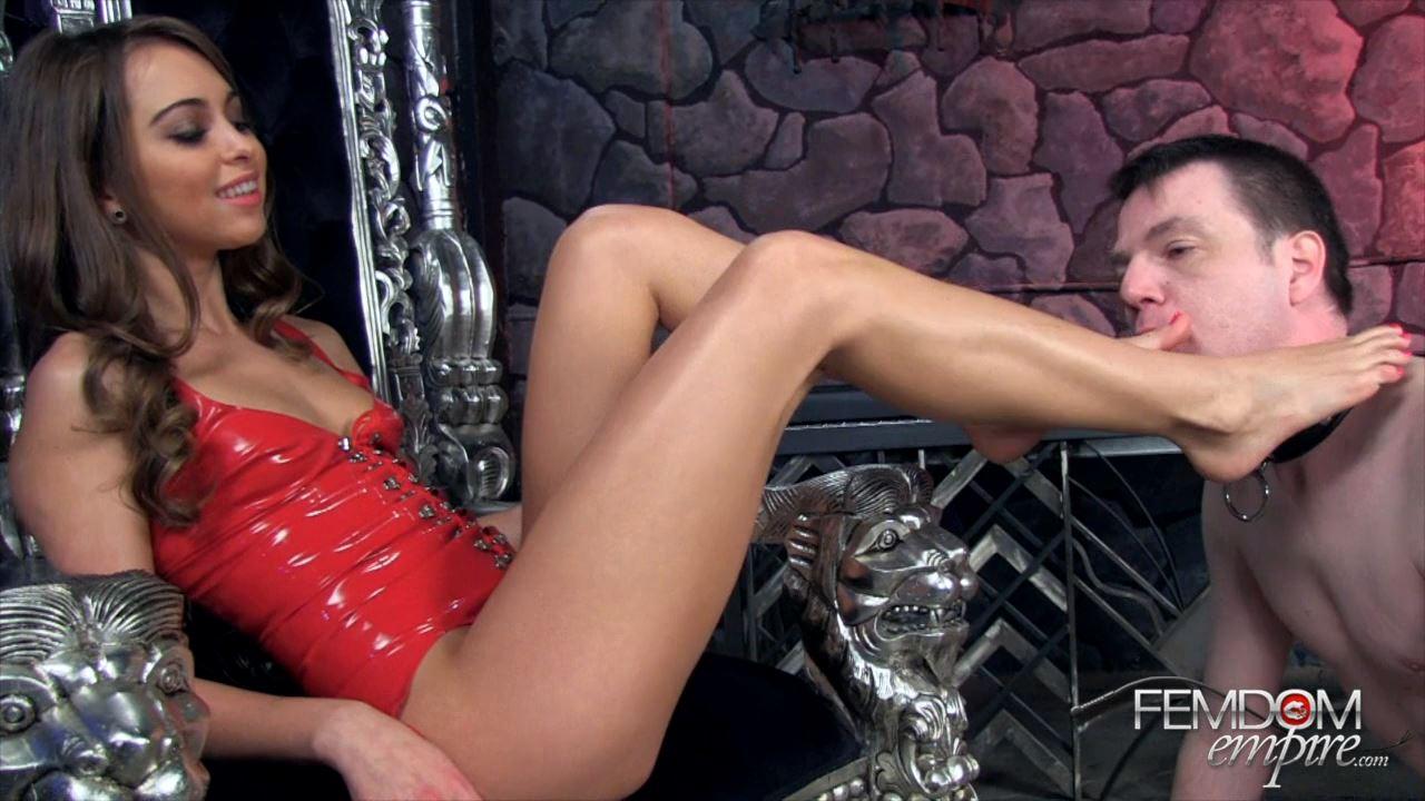 Riley Reid In Scene: Bitchy Foot Princess - FEMDOMEMPIRE - HD/720p/MP4