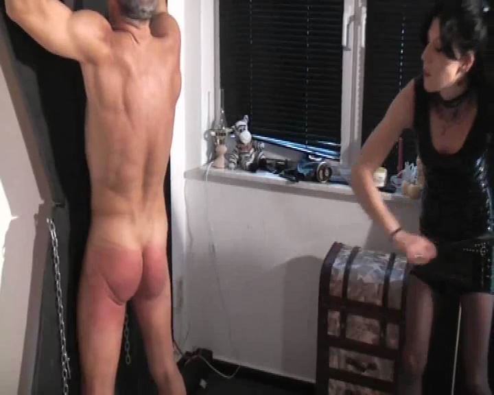 Mistress Morgana In Scene: Slaves Flogged - DEUTSCHE DOMINAS / GERMANY FEMDOM - SD/576p/MP4