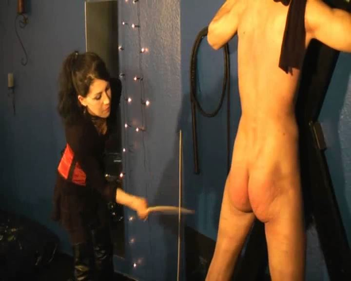 Mistress Morgana In Scene: Hard Caning Spanking - DEUTSCHE DOMINAS / GERMANY FEMDOM - SD/576p/MP4