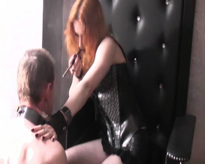 Lady Medusa In Scene: A Little Wanker - DEUTSCHE DOMINAS / GERMANY FEMDOM - SD/576p/MP4