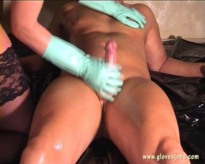 Green Rubbergloves Fucking and Milking - GLOVESJOBS - SD/576p/MP4
