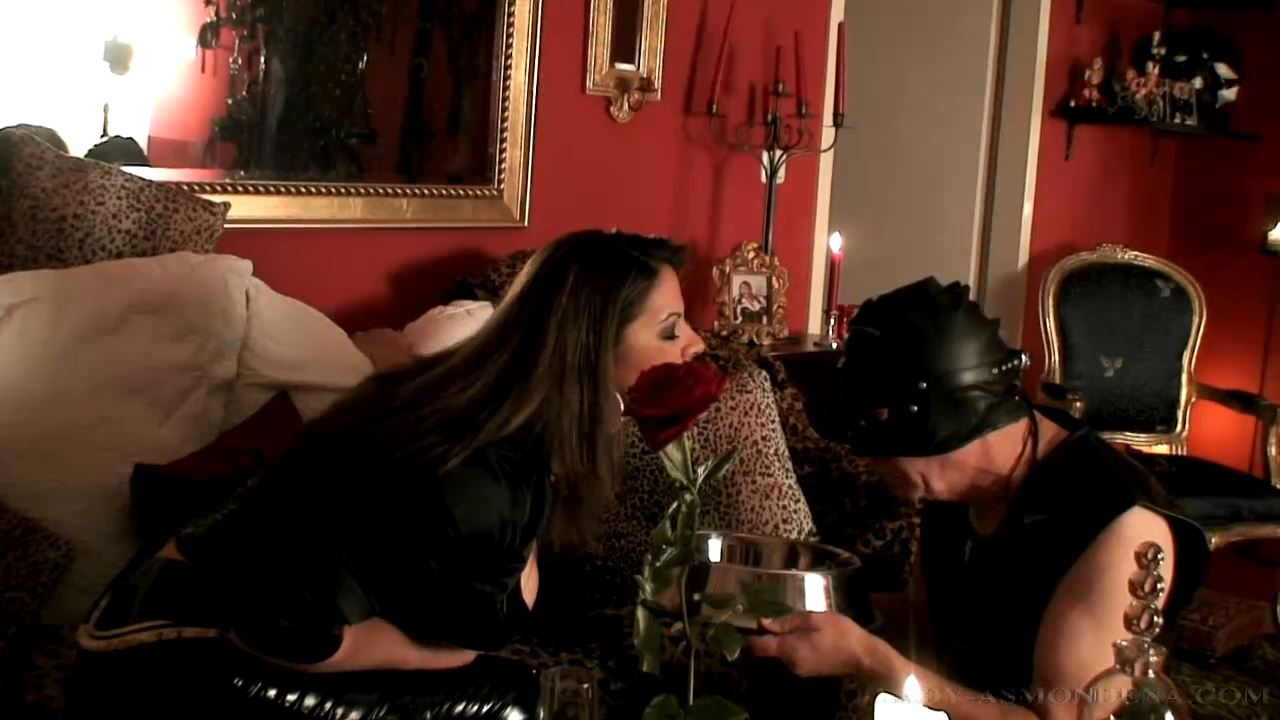 Forced Feeding and Punishment Part 1 - LADY ASMONDENA - HD/720p/MP4