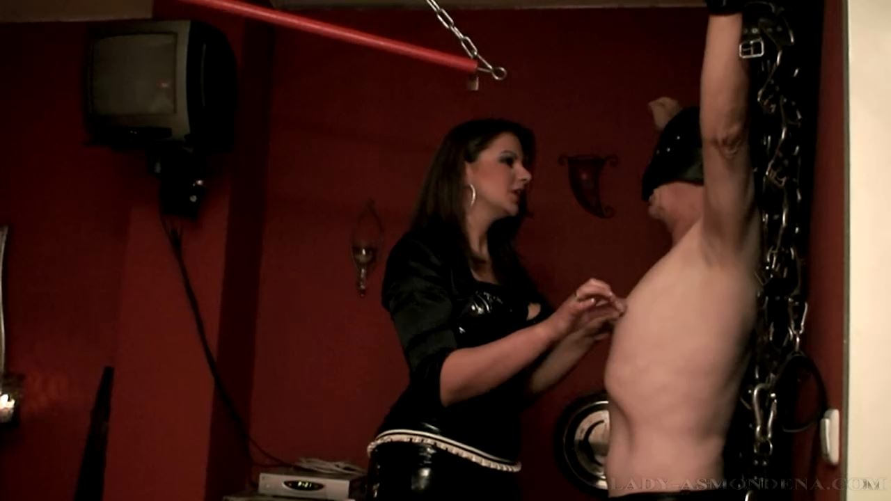 Forced Feeding and Punishment Part 2 - LADY ASMONDENA - HD/720p/MP4