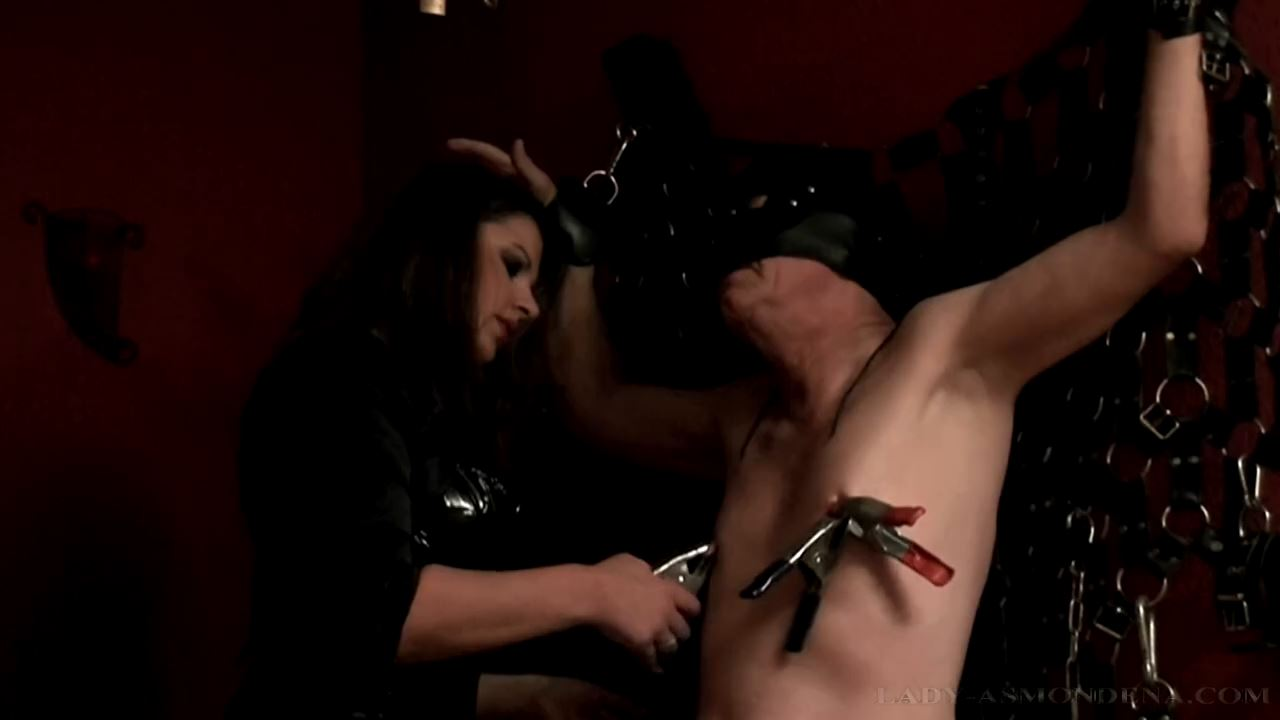 Forced Feeding and Punishment Part 3 - LADY ASMONDENA - HD/720p/MP4