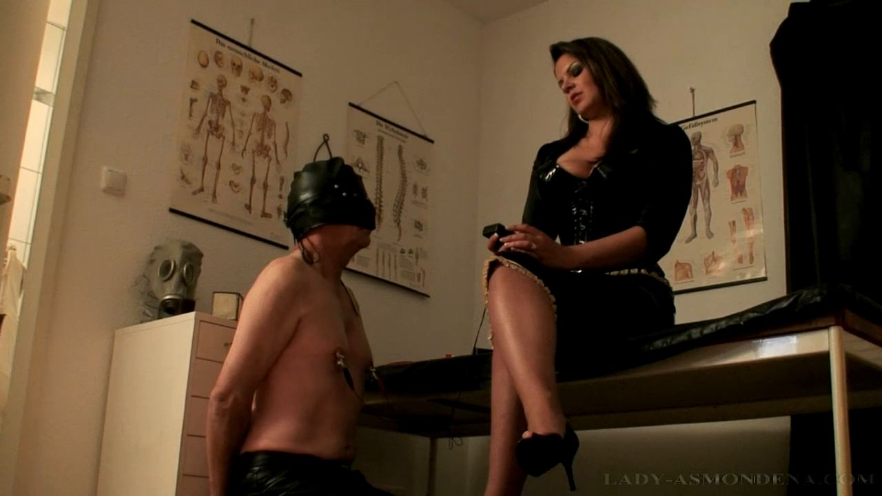 Forced Feeding and Punishment Part 4 - LADY ASMONDENA - HD/720p/MP4