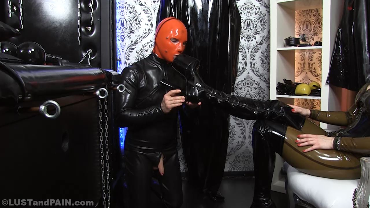 Lady Destiny Van Dawn In Scene: Lust And Rubber Part 1 - LUST AND PAIN - HD/720p/MP4