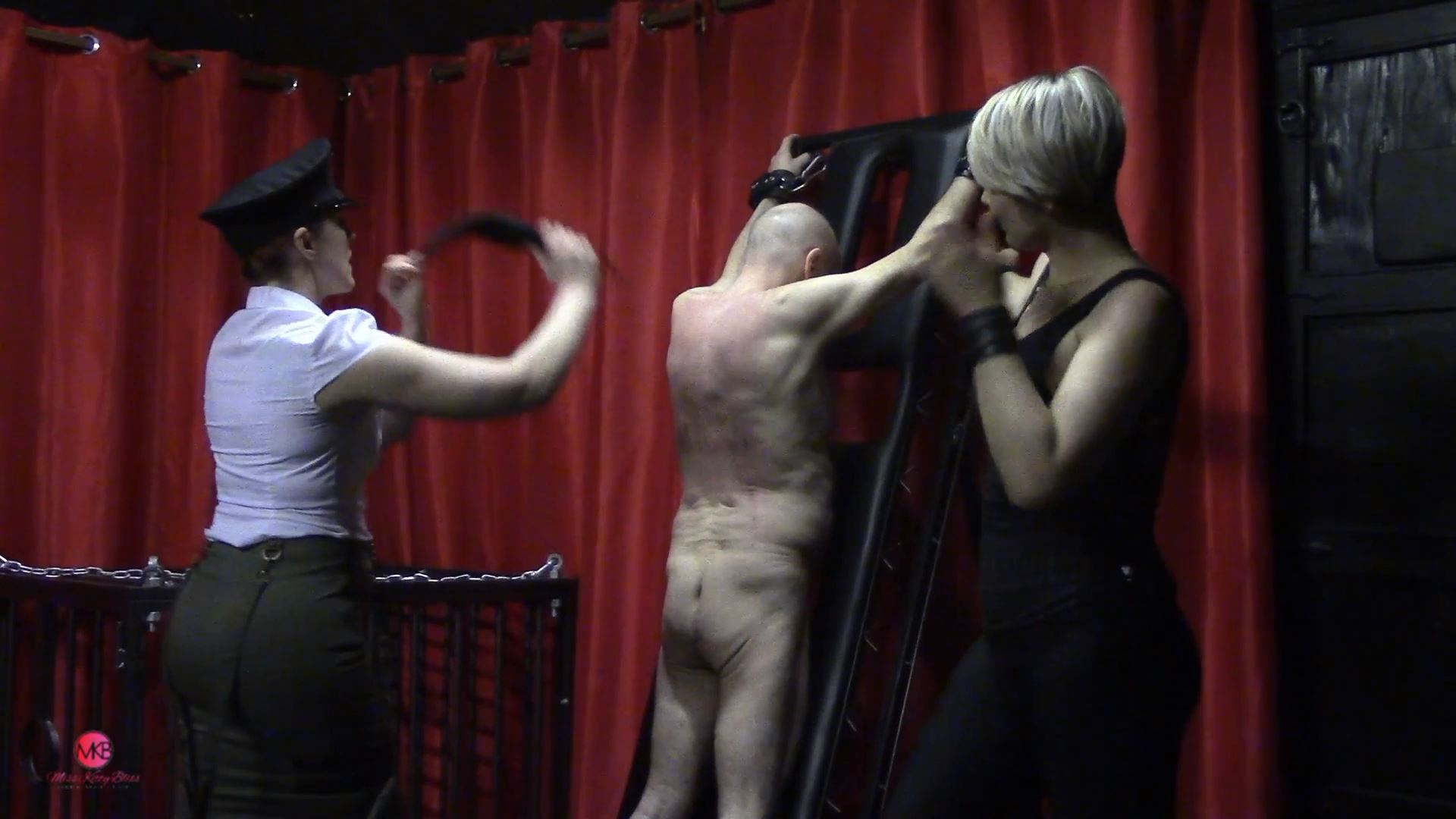 Kinky Kurdy Scratched & Paddled - MISS KITTY BLISS - FULL HD/1080p/MP4