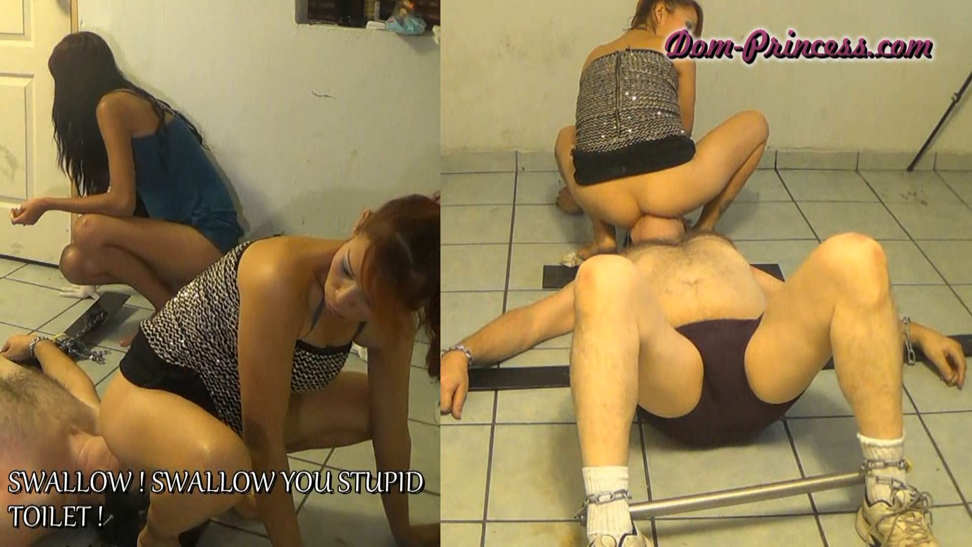 Sit on Mouth Push Transaction Part 4 Christine - SCAT-PRINCESS - FULL HD/1080p/WMV