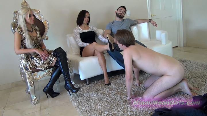 Foot Cuckold Couple Counseling - AMERICAN MEAN GIRLS / MIAMI MEAN GIRLS - SD/404p/MP4