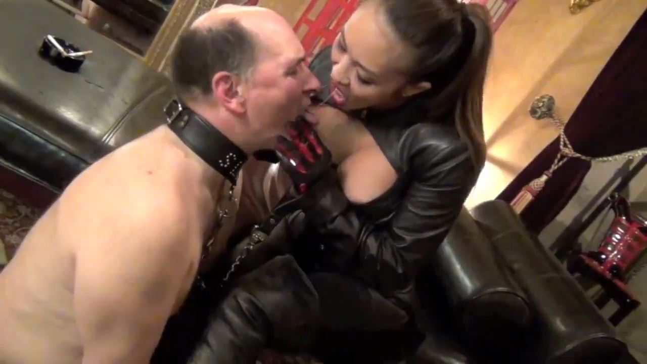 Mistress Kai In Scene: TRAINED TO BE MY SMOKE SLAVE - ASIAN CRUELTY - HD/720p/MP4