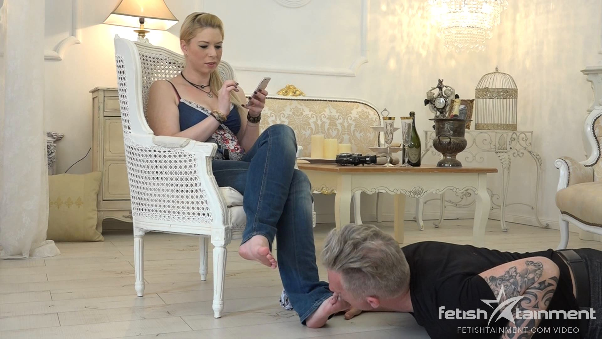 Tina D.'s sexy video From: 14.07.2016 - FETISHTAINMENT / FEMDOM GOLD - FULL HD/1080p/MP4
