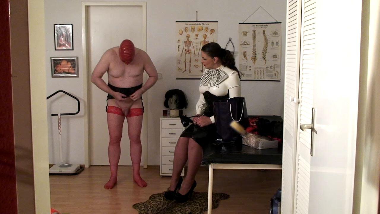 Sissy Slave Training In The Studio 1 - LADY ASMONDENA - HD/720p/MP4