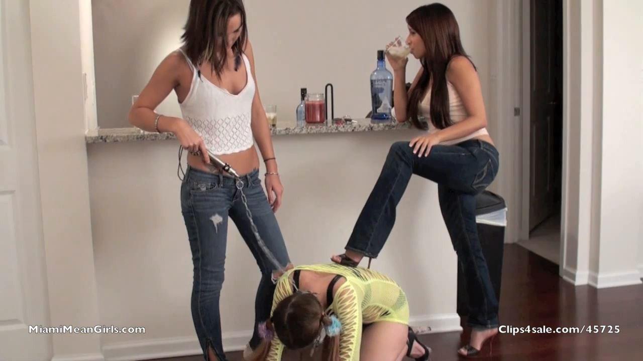 GoddessNo In Scene: Humiliate The Lezbo Slut Part2 - MIAMIMEANGIRLS - HD/720p/MP4