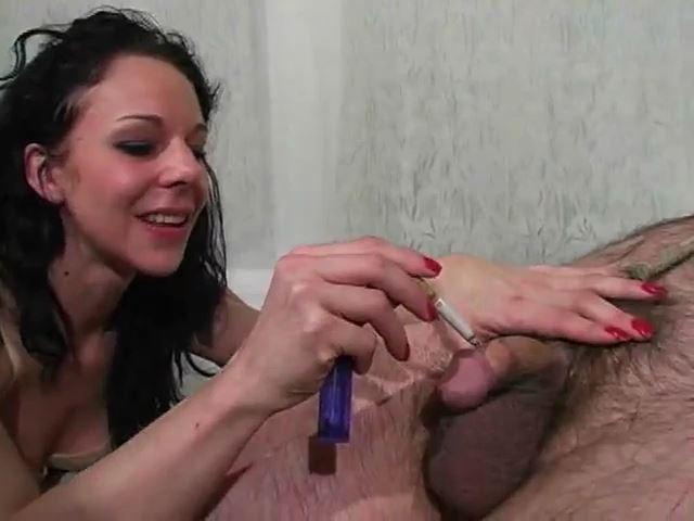 Searing his Flesh - MISTRESS TRISH - SD/480p/MP4