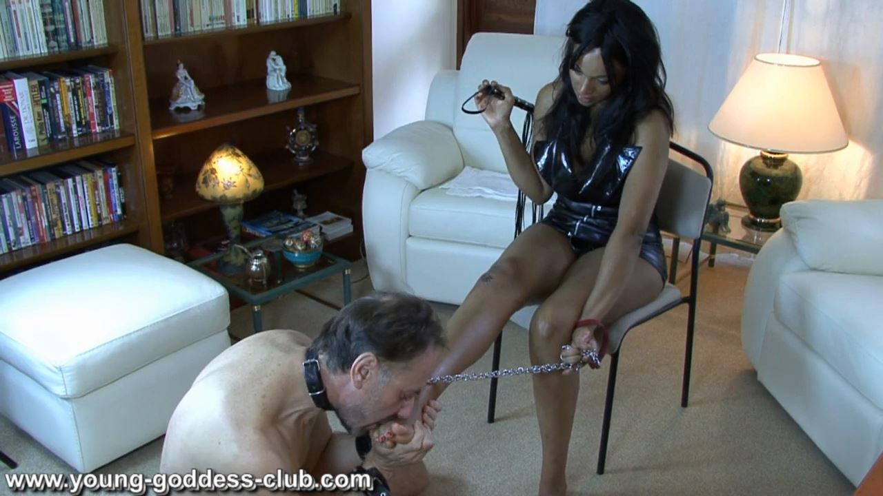 GODDESS KAINA In Scene: I WANT YOU TO BE MY WHORE - YOUNG GODDESS LAND - HD/720p/MP4