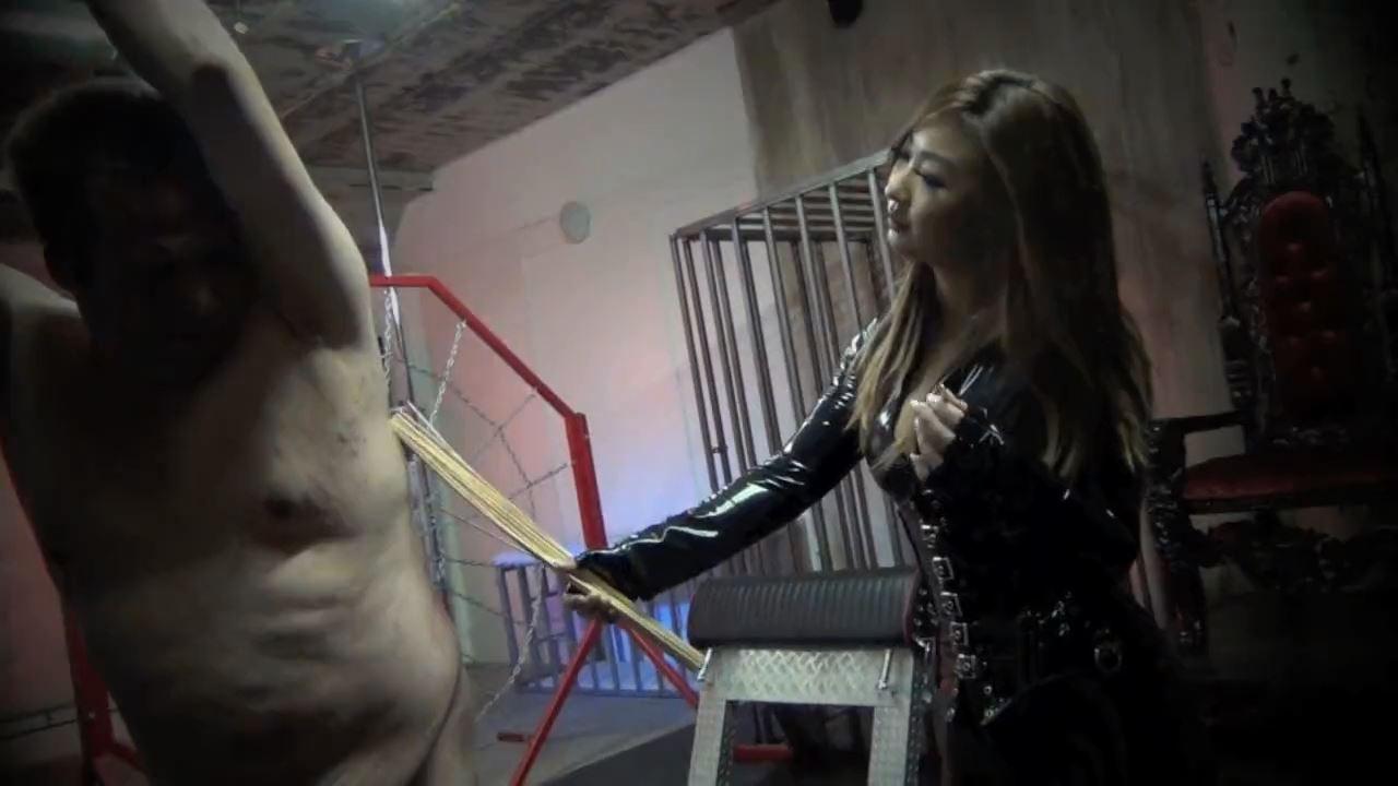 Queen Darla In Scene: BRUTAL CANES OF PAIN - ASIAN CRUELTY - HD/720p/MP4
