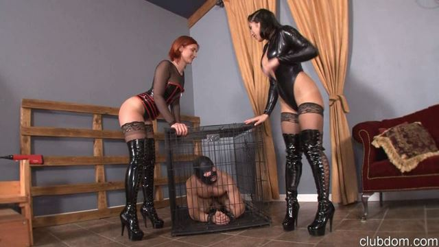 Goddess Amadahy, Mistress Mia In Scene: Tormenting The Slave Part 1 - CLUBDOM / RUTHLESSVIXEN - LQ/360p/MP4