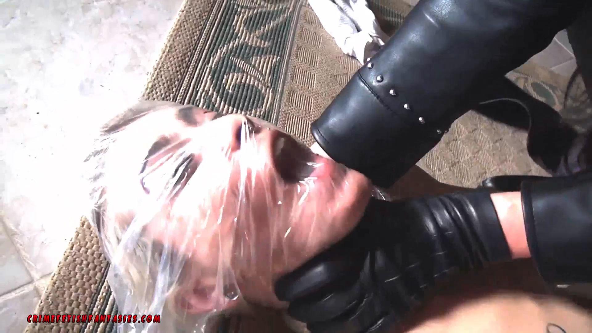 STELLA BAGGED BY MASKED WOMAN 2 - CRIMEFETISHFANTASIES - BAGGING BONDAGE - FULL HD/1080p/MP4