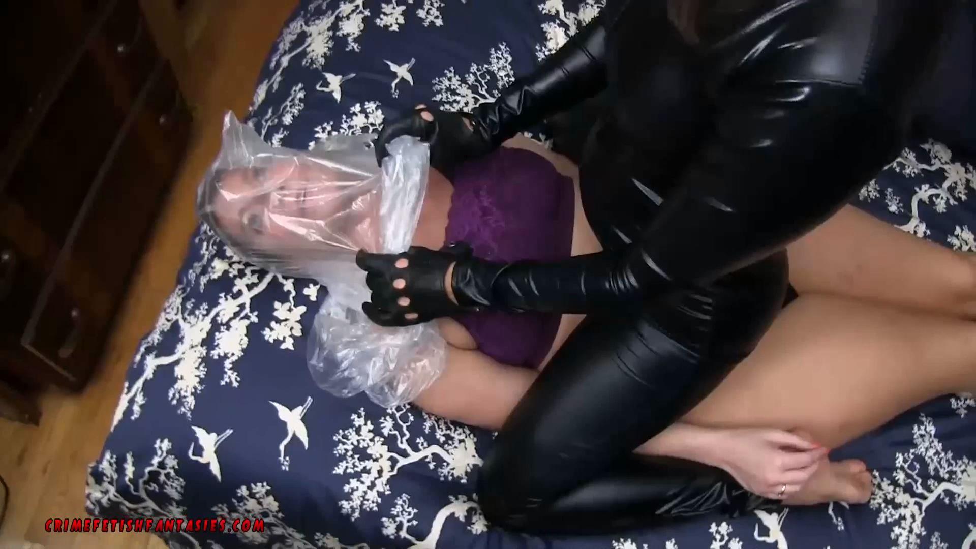 CONSTANCE BAGGED BY MASKED WOMAN - CRIMEFETISHFANTASIES - BAGGING BONDAGE - FULL HD/1080p/MP4